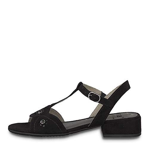 Jana Softline 28260-22/001 Sandales Noir