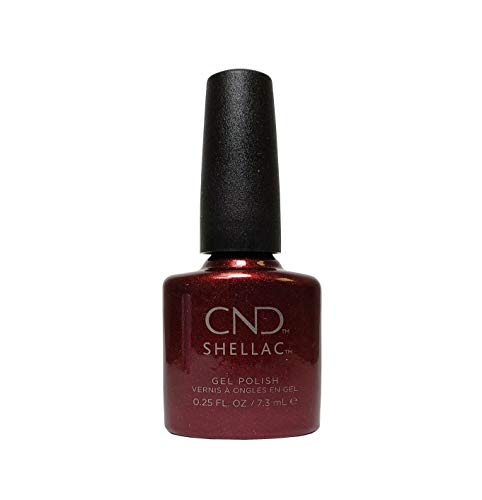 CND Shellac Power Vernis – Modern Folklore Collection – Crimson Sash – 7,1 gram/7.3 ml par CND Cosmetics par CND Cosmetics