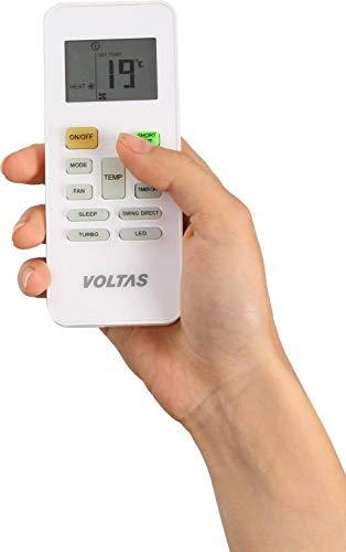 Voltas 1.5 Ton 3 Star Inverter Split AC (Copper, 183V CZT, White)