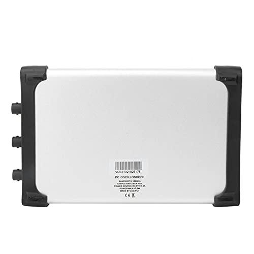Osciloscopio virtual multicanal de 100 MHz 2 + 1 de alta sensibilidad Osciloscopio USB para la industria de ordenadores
