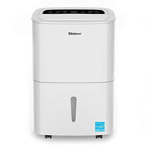 Shinco 5000 Sq.Ft Energy Star Dehumidifier with Built-in Pump for Large Room, Basements, Office, Warehouse