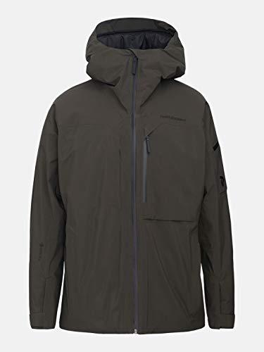 Peak Performance – Chaqueta de esquí y Snow M Alpine 2L para hombre, talla XL, color verde