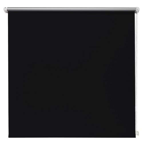 Beyond Drape thermo-rolgordijn zwart 80x210 cm zonder boren verduisteringsrolgordijn zijtrekrolgordijn klemrolgordijn blackout zilveren coating