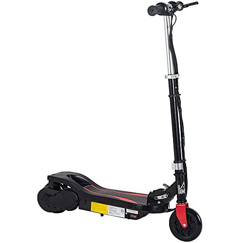 monopattino elettrico quanto costa homcom Monopattino Elettrico Pieghevole Altezza Regolabile 82-93cm con Freno velocità 12km/h