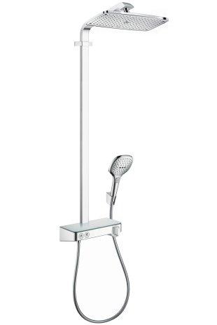 Hansgrohe Showerpipe Duschsystem Raindance Select Chrom mit Showertablet KB Raindance E 360 ST, 27288000