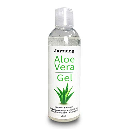 100% reine natürliche Aloe Vera Gel Gesicht Körper Feuchtigkeitscreme Gel Beruhigende feuchtigkeitsspendende nährende Kühlung nach Sonnencreme trockene empfindliche Haut Sonnenbrand reparieren