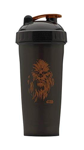 Performa Shaker - Star Wars Original Series Collection, Best Leak Free Bottle with Actionrod Mixing Technology for Your Sports & Fitness Needs! Dishwasher and Shatter Proof (Chewbacca)(28oz)