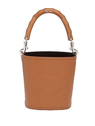 Prada Luxury Fashion Damen 1BE048V5OL2AIXF0XKV Braun Leder Handtaschen | Frühling Sommer 20