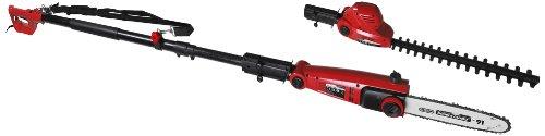 Matrix 310550370 EPS-HT S Hochentaster, Heckenschere, elektro, 710 Watt, Oregon Kette und Schwert, automatische Kettenschmierung, Werkzeuglose Kettenspannung, Winkelverstellung