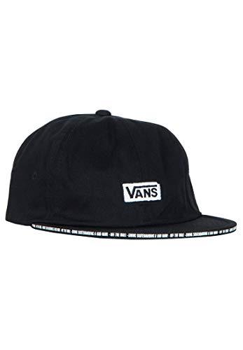 Vans X Baker Jockey - Gorra, color negro, Otoño-invierno 19., color negro, tamaño Talla única