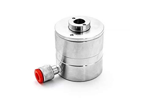 CASTEX - Hydraulikzylinder 12 T mit Durchgangs- und Gewindebohrung Hydraulikflasche Hydraulikzylinder- Zylinder- Made IN EU