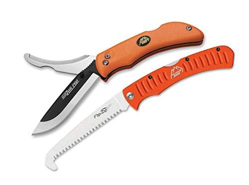 Outdoor Edge Unisex– Erwachsene Taschenmesser Razor Pro Saw Combo, orange, 20,3 cm