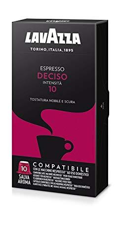 200 capsule caffè Lavazza compatibili NESPRESSO MISCELA DECISO