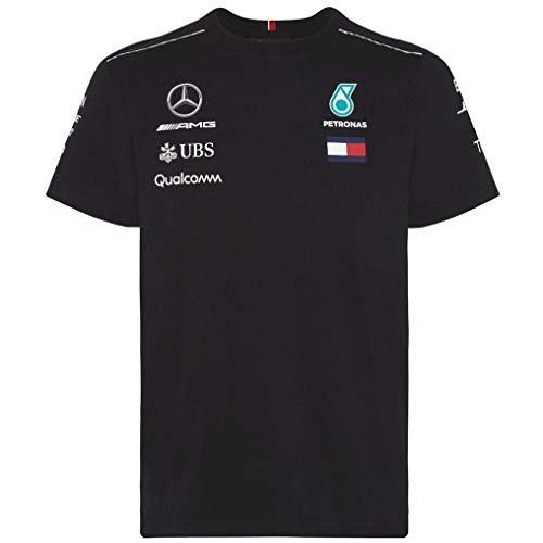 Mercedes AMG Petronas F1 Mens Driver Camiseta 2018