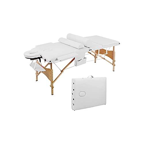 KSDCDF Table de massage portable - Lit de salon de thérapie légère for massage, physio, faciaux,...