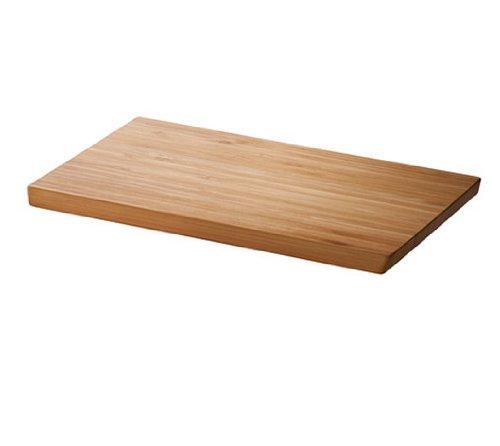 イケア IKEA APTITLIG まな板, 竹 (長さ: 45 cm 幅: 28 cm 厚さ: 16 mm, 茶色)