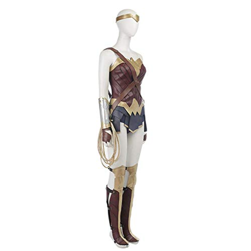 Rzf Costume Wonder Woman per Adulti Justice League Movie The Diana Upgrade Edition FemaleClothing Cosplay Fly Wonder Woman Battleframe Skirt Outfit Costume di Halloween