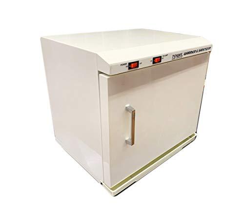 Pantin 20 Liter Capacity Hot Towel Warmer Cabinet and Sanitizer for Hair Salon, Beauty SPA, Restaurant & Home - 120V, 250W