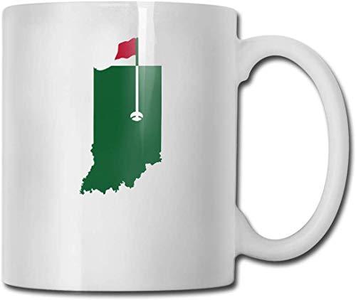 Tazze in porcellana di Golf Masters of Indiana Fashion