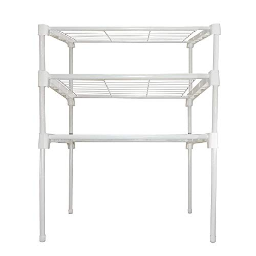 Cmerchants Smart Buy 3 Rack Kitchen Cabinet Rack for Kitchen Utility