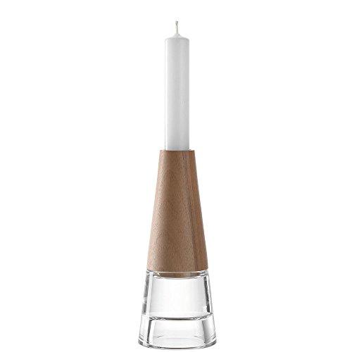 Leonardo 029346Keramik, Glas braun Kerzenhalter