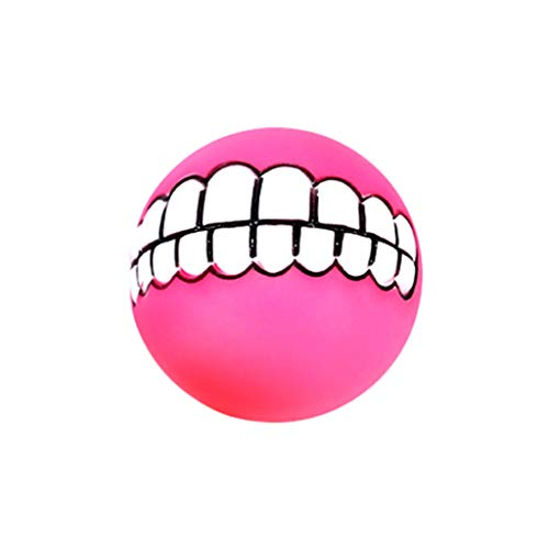 Pstars Multi-Purpose Dog Molar Bite Toy Dog Chew Toys for Puppy Cleaning Teeth,Durable Silicon Ball Shaped Toys Elasticity Puppy Molar...