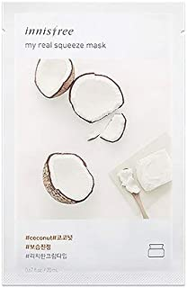 Innisfree My Real Squeeze Mask Pack - Coconut