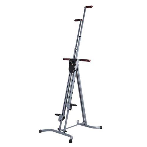 Stepper,Stepper-Vertical Climber Folding Übungsklettermaschine, Trainingsgeräte Climber für das Heim-Fitnessstudio, Treppen-Stepper-Übung für den Home Body Trainer