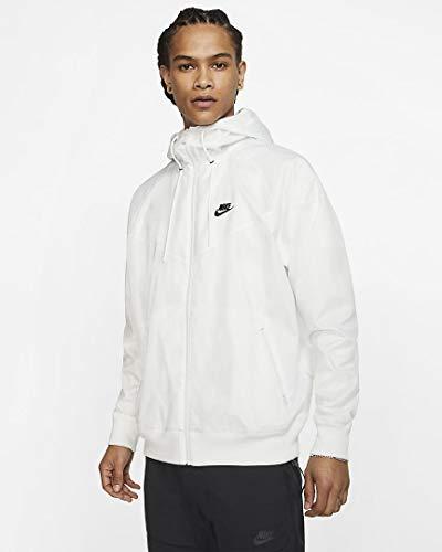 Nike Unisex-Adult Windrunner Hd Jake Steppjacke, White/University Red/Midnight, XXL