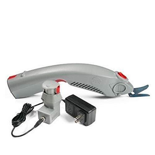 MYX-1 Portatile in Tessuto Elettrico Cutting Tool Carpet Coltello tagliatrice Panno Scissors Shears Pelle 100-240V 50   60Hz (Batteria 1pcs + Un Blade)