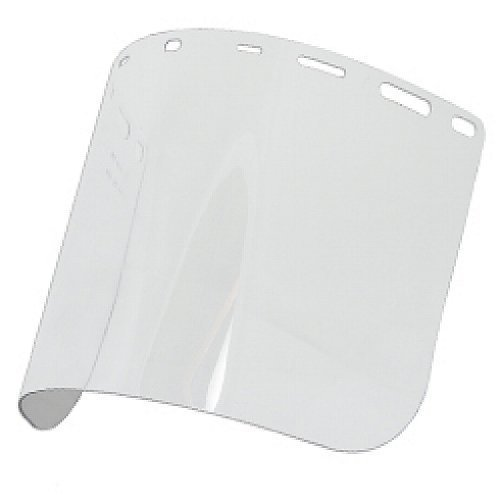 Replacement Face Shield, 8'x 15.5'x .040, Clear Polycarb, Model 15151