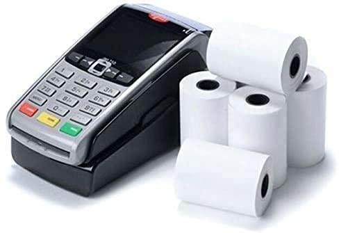 Lot derouleaux de papier thermique pour tickets de caisse enregistreuse - 57x40mm 60 Rolls