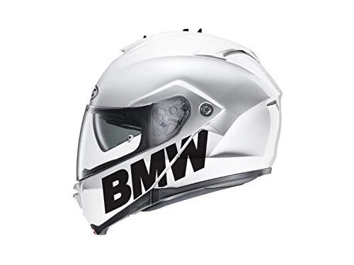 SUPERSTICKI 2X BMW Schriftzug Helmaufkleber Helm Motorrad Aufkleber Bike Auto Racing Tuning aus Hochleistungsfolie Aufkleber Autoaufkleber Tuningaufkleber Hochleistungsfolie für alle Glatte
