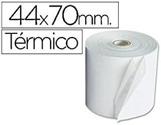 ROLLO SUMADORA TERMICO Q-CONNECT 44 MM ANCHO X 70 MM DIAMETRO 10 unid.