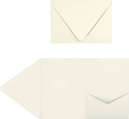 A7 Pocket Invitations (5 x 7) - Quartz Metallic (50 Qty.)