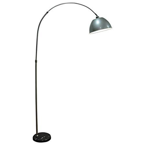 KAISIMYS Lámpara de pie Luz de pie Lámparas Verticales Luces Lámpara de pie LED E27 Lámpara de Arco Lámpara de pie de mármol Ajustable en Altura Lámpara de pie Luz de Suelo Aprendizaje Control Remoto