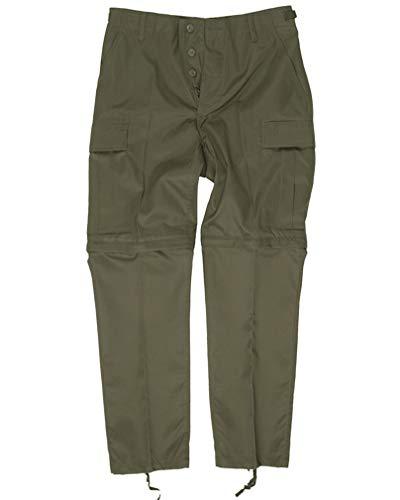 Mil-Tec Pantalons Zip-Off combat Pantalons Olive Taille XXL
