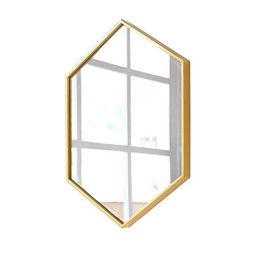 TYWZJ Badezimmerspiegel, HD Wandspiegel für Veranda, Flur, Wohnzimmer, Schlafzimmer, Badezimmer, kann eine Starke dekorative Rolle Spielen, die für die Inneneinrichtung geeignet ist