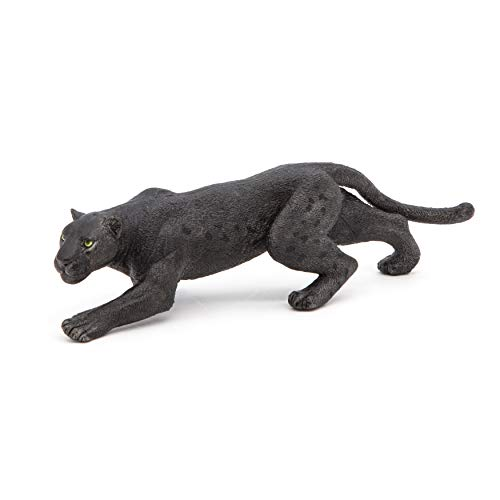 Papo 50026 Schwarzer Panther WILDTIERE DER Welt Figur, Mehrfarben