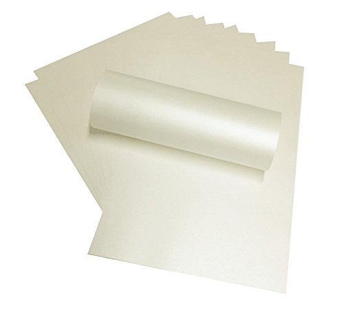 nextradeitalia Carta Perlata, Formato A4, 230g,Avorio,Confezione da 50pz