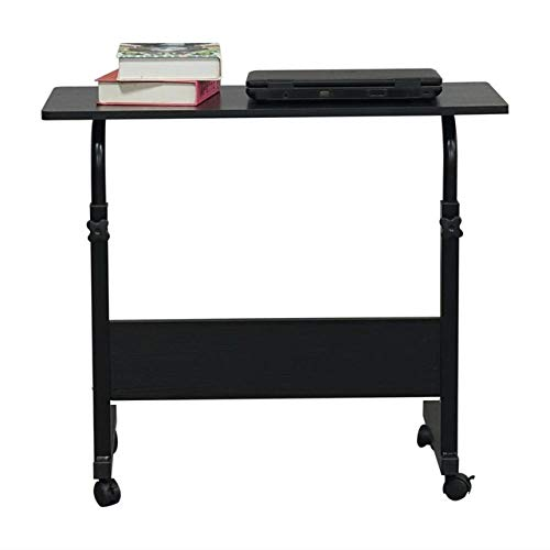 HJFGSAK Escritorio Mesa de tamaño L, Soporte para computadora portátil, portátil, Multiusos, Escritorio, Deflector, Mesa Lateral extraíble,Muebles, D, Estados Unidos