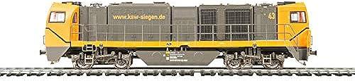 Mehano 58906 KSW asymmetrisch - DC Vossloh G2000, Schwarz& Orange, H0