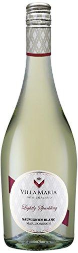 6x 0,75l - Villa Maria - Lightly Sparkling Sauvignon Blanc - Marlborough - Neuseeland - Perlwein trocken