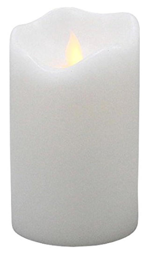 チェリー直感非難するリアルフレイム LEDキャンドル ホワイト CL011