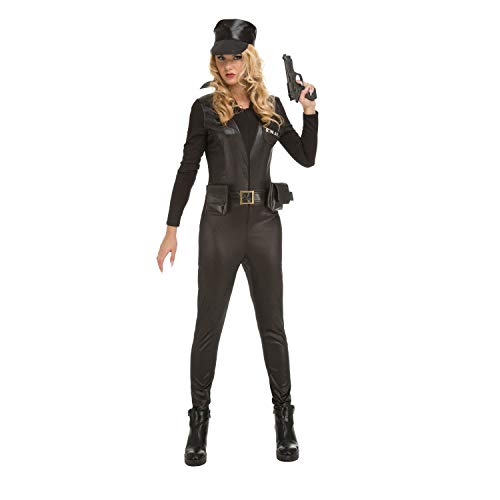 My Other Me Me-204281 Disfraz SWAT para niña, S (Viving Costumes 204281)