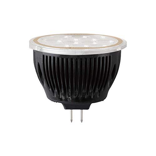 タカショー LEDIUS(レディアス) ローボルト用交換電球 LED球12V ダイクロハロゲン形 GU5.3口金 2.7W 電球色 227lm HMB-L01K