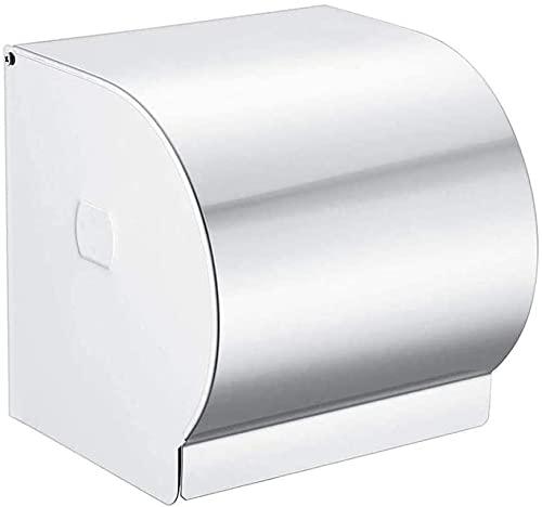 KMILE Baño de Pared Caja de pañol 304 Soporte de Toalla de Papel de Acero Inoxidable