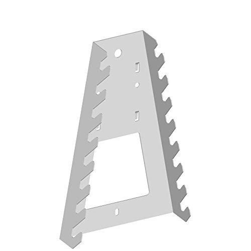 Werkzeughalter Schraubenschluessel L133 H195 mm weiss