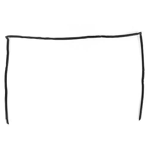 Sello de ventana de automóvil - Sello de moldura de parabrisas trasero Reemplazo de automóvil 51 31 8159785 Ajuste para E39 525i 530i 540i 528i M5, Negro