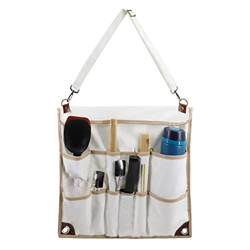 Bolsa de almacenamiento de vajilla para acampar, multifuncional Organizador de herramientas para colgar de tela Oxford Bolsa de almacenamiento para utensilios de cocina para acampar Estuche